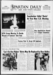 Spartan Daily, October 17, 1969 by San Jose State University, School of Journalism and Mass Communications