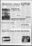 Spartan Daily, October 28, 1969 by San Jose State University, School of Journalism and Mass Communications