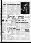 Spartan Daily, October 31, 1969 by San Jose State University, School of Journalism and Mass Communications