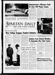 Spartan Daily, September 29, 1969 by San Jose State University, School of Journalism and Mass Communications