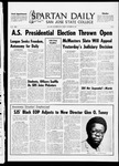 Spartan Daily, September 30, 1969 by San Jose State University, School of Journalism and Mass Communications