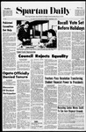 Spartan Daily, December 1, 1970 by San Jose State University, School of Journalism and Mass Communications