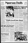 Spartan Daily, December 3, 1970 by San Jose State University, School of Journalism and Mass Communications