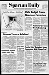 Spartan Daily, December 7, 1970 by San Jose State University, School of Journalism and Mass Communications