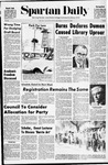 Spartan Daily, January 6, 1970 by San Jose State University, School of Journalism and Mass Communications