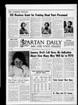 Spartan Daily, January 12, 1970 by San Jose State University, School of Journalism and Mass Communications