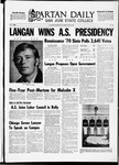 Spartan Daily, May 22, 1970 by San Jose State University, School of Journalism and Mass Communications