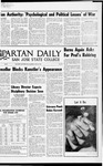 Spartan Daily, May 25, 1970 by San Jose State University, School of Journalism and Mass Communications