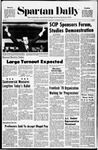 Spartan Daily, November 3, 1970 by San Jose State University, School of Journalism and Mass Communications