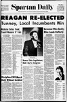 Spartan Daily, November 4, 1970 by San Jose State University, School of Journalism and Mass Communications