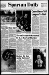 Spartan Daily, November 5, 1970 by San Jose State University, School of Journalism and Mass Communications