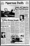 Spartan Daily, November 16, 1970 by San Jose State University, School of Journalism and Mass Communications