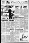 Spartan Daily, October 1, 1970 by San Jose State University, School of Journalism and Mass Communications