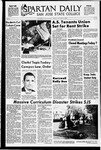 Spartan Daily, October 12, 1970 by San Jose State University, School of Journalism and Mass Communications
