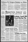 Spartan Daily, October 13, 1970 by San Jose State University, School of Journalism and Mass Communications