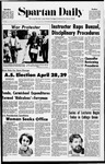 Spartan Daily, April 22, 1971