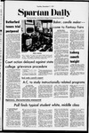Spartan Daily, December 7, 1971 by San Jose State University, School of Journalism and Mass Communications