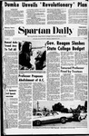 Spartan Daily, February 9, 1971 by San Jose State University, School of Journalism and Mass Communications