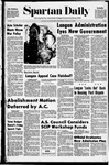 Spartan Daily, February 10, 1971 by San Jose State University, School of Journalism and Mass Communications
