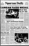 Spartan Daily, February 25, 1971