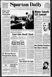 Spartan Daily, January 5, 1971 by San Jose State University, School of Journalism and Mass Communications