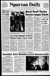 Spartan Daily, March 2, 1971 by San Jose State University, School of Journalism and Mass Communications