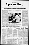 Spartan Daily, November 1, 1971 by San Jose State University, School of Journalism and Mass Communications