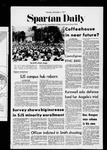 Spartan Daily, November 4, 1971 by San Jose State University, School of Journalism and Mass Communications