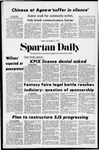 Spartan Daily, November 5, 1971 by San Jose State University, School of Journalism and Mass Communications