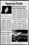 Spartan Daily, November 8, 1971 by San Jose State University, School of Journalism and Mass Communications