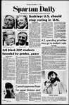 Spartan Daily, November 11, 1971 by San Jose State University, School of Journalism and Mass Communications