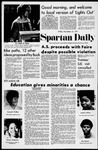Spartan Daily, November 12, 1971 by San Jose State University, School of Journalism and Mass Communications