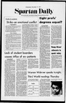 Spartan Daily, November 17, 1971 by San Jose State University, School of Journalism and Mass Communications