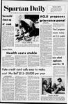 Spartan Daily, October 5, 1971
