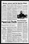 Spartan Daily, January 4, 1972 by San Jose State University, School of Journalism and Mass Communications