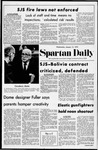 Spartan Daily, January 12, 1972 by San Jose State University, School of Journalism and Mass Communications