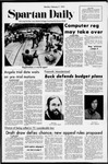 Spartan Daily, February 7, 1972 by San Jose State University, School of Journalism and Mass Communications
