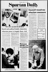 Spartan Daily, March 16, 1972 by San Jose State University, School of Journalism and Mass Communications