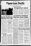 Spartan Daily, April 10, 1972 by San Jose State University, School of Journalism and Mass Communications