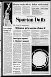 Spartan Daily, April 27, 1972 by San Jose State University, School of Journalism and Mass Communications