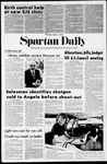 Spartan Daily, May 4, 1972 by San Jose State University, School of Journalism and Mass Communications