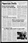 Spartan Daily, May 19, 1972 by San Jose State University, School of Journalism and Mass Communications