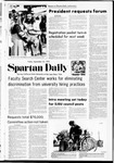 Spartan Daily, September 22, 1972 by San Jose State University, School of Journalism and Mass Communications