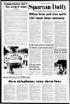 Spartan Daily, October 2, 1972 by San Jose State University, School of Journalism and Mass Communications