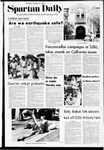 Spartan Daily, October 3, 1972 by San Jose State University, School of Journalism and Mass Communications