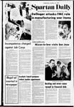Spartan Daily, October 18, 1972 by San Jose State University, School of Journalism and Mass Communications