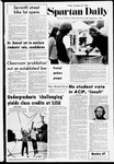 Spartan Daily, October 20, 1972 by San Jose State University, School of Journalism and Mass Communications