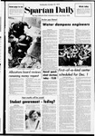 Spartan Daily, October 25, 1972 by San Jose State University, School of Journalism and Mass Communications