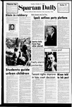 Spartan Daily, October 31, 1972 by San Jose State University, School of Journalism and Mass Communications