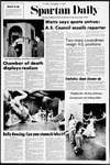 Spartan Daily, November 3, 1972 by San Jose State University, School of Journalism and Mass Communications